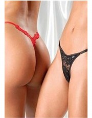 The Look of Love Thong by Sensualle