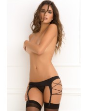 Rene Rofe Criss Cross Suspender Belt