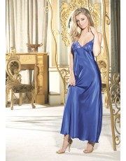 Shirley of Hollywood Blue Gown 20300