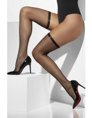 Fever Black Lattice Net Hold Ups