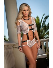 G World Opulent Fishnet Cami Set L1311