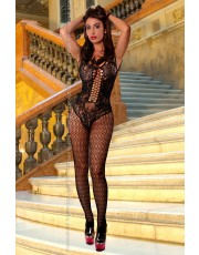 Provocative Black Bodystocking
