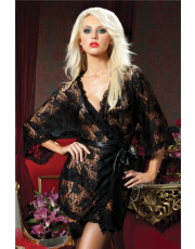 Seven 'til Midnight Paisley Pleasure Robe (STM9405)