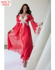 Jane Woolrich Heavenly Silk Robe 7081 jw