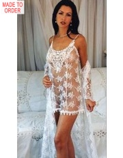 Mimi Chemise and Robe by Diki