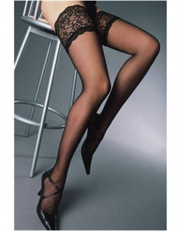 Rive Gauche Silk Hold Ups By Cervin