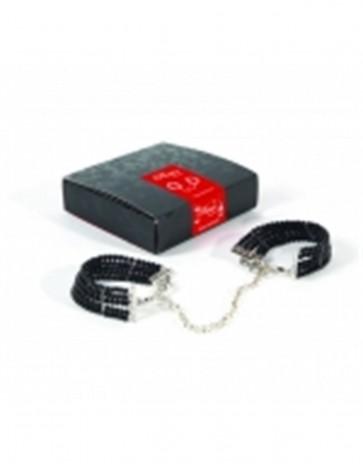Plaisir Nacre Handcuffs by Bijoux