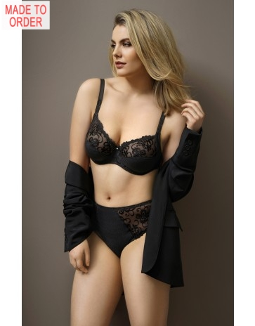 Antinea Fleur De Plume Lingerie Collection In Blue or Black