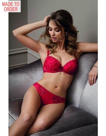 Antinea Fashion Guipure Lingerie Collection In Grey or Red