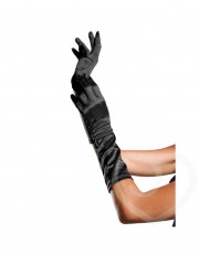 Elbow Length Gloves-One Size-Black