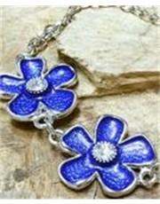 Blue Daisy Designer Bracelet