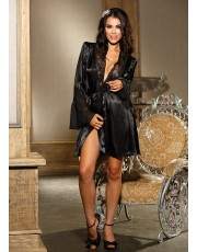 Luxury Black Robe by Shirley of Hollywood 20567
