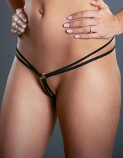 Fearless & Fun Double Strap Micro G-string with Ring 015