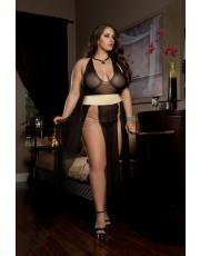 Plus Size Diva Dress By G-World Lingerie - D1325P