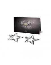Black Star Sequinned Mimi Nipple Jewellery by Bijoux