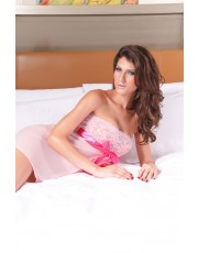 Pink Ribbon Babydoll One Size