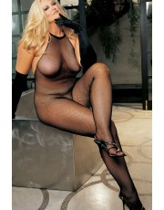 Shirley of Hollywood Fishnet Plus Size Bodystocking X90001