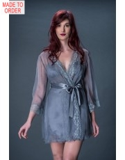 Liliana Casanova Contemporaine Short Dressing Gown