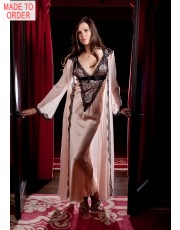 Inviting Jane Woolrich Silk Robe 8286